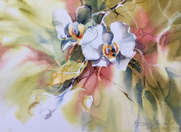 Duet a Kathleen Conover transparent watercolor