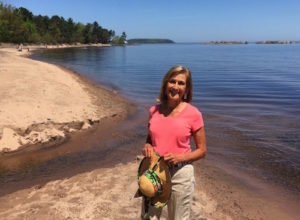 Kathleen Conover and Lake Superior Beach